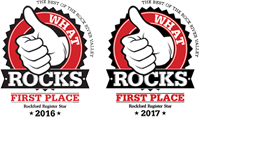 What Rocks in Rockford Winner
